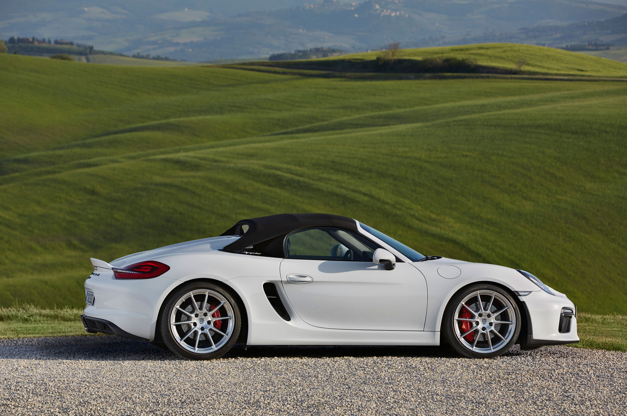 2016 porsche boxster spyder first drive automobile magazine. Black Bedroom Furniture Sets. Home Design Ideas