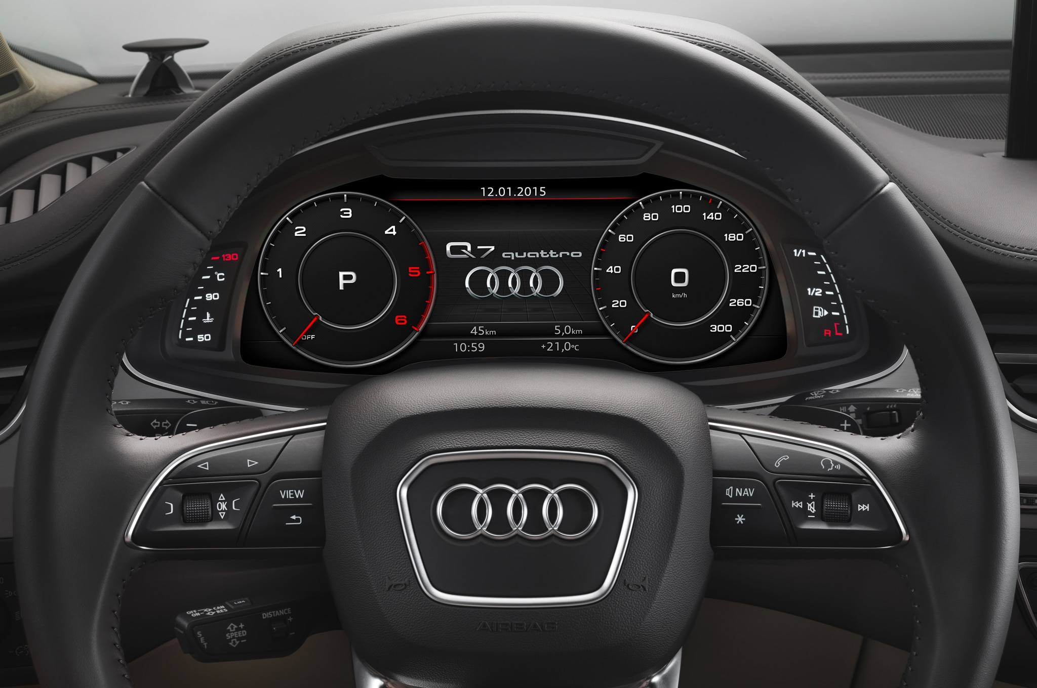 q7 audi audis light motortrend countdown offer feature cluster
