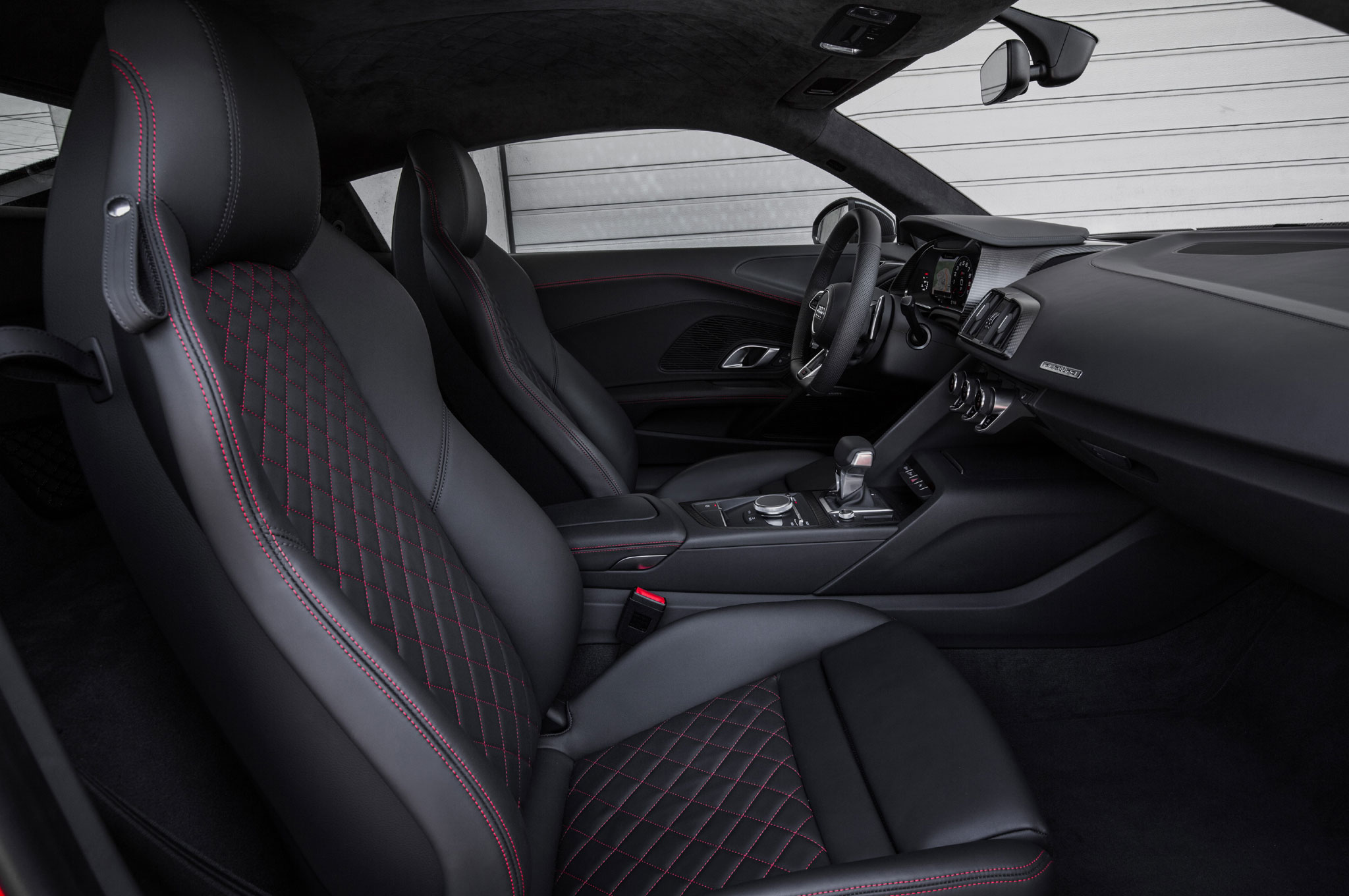 audi r8 matte black interior. 2017 audi r8 v10 plus cabin 03 matte black interior