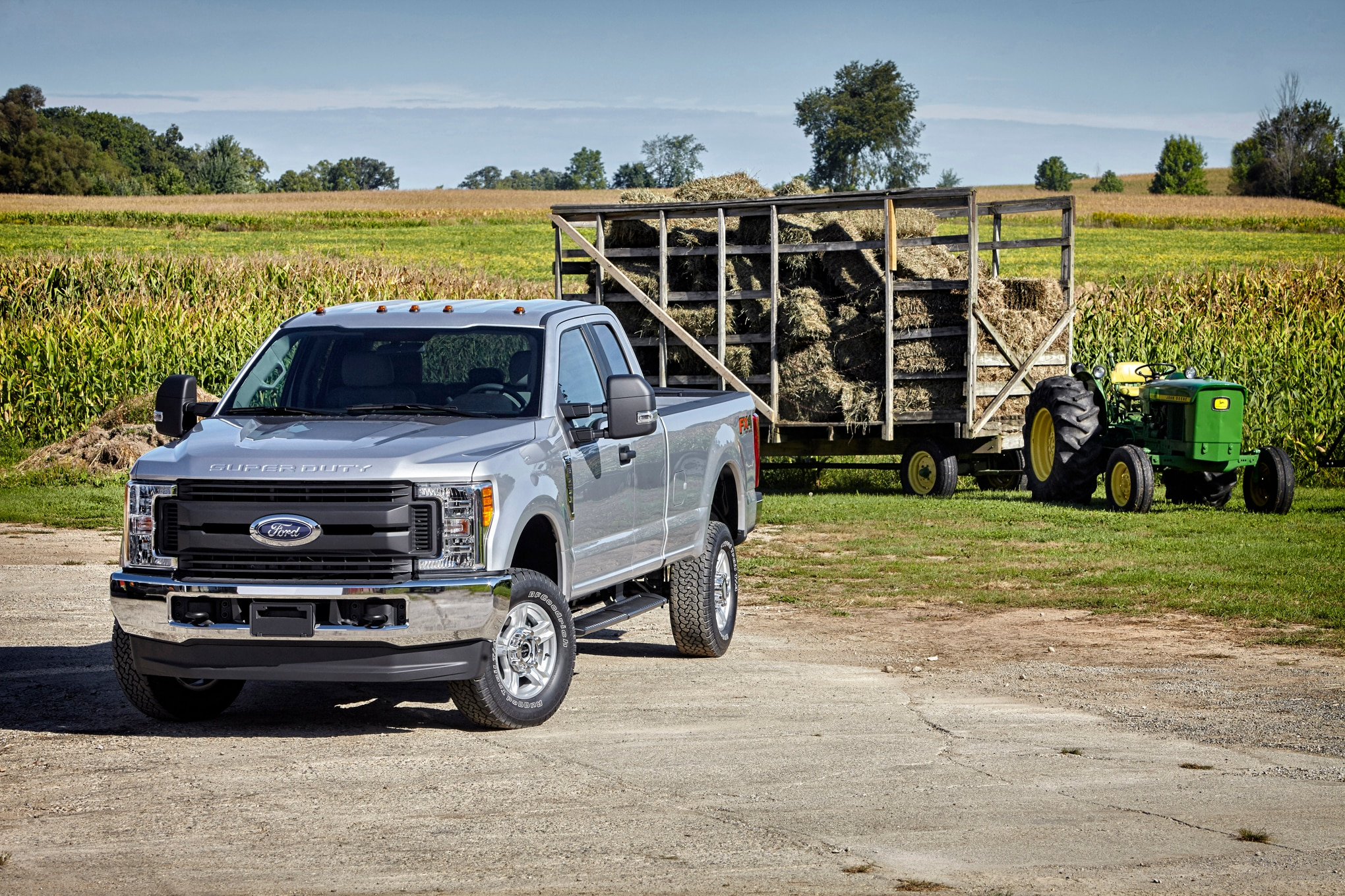here s how ford tests super duty truck towing capacity. Black Bedroom Furniture Sets. Home Design Ideas
