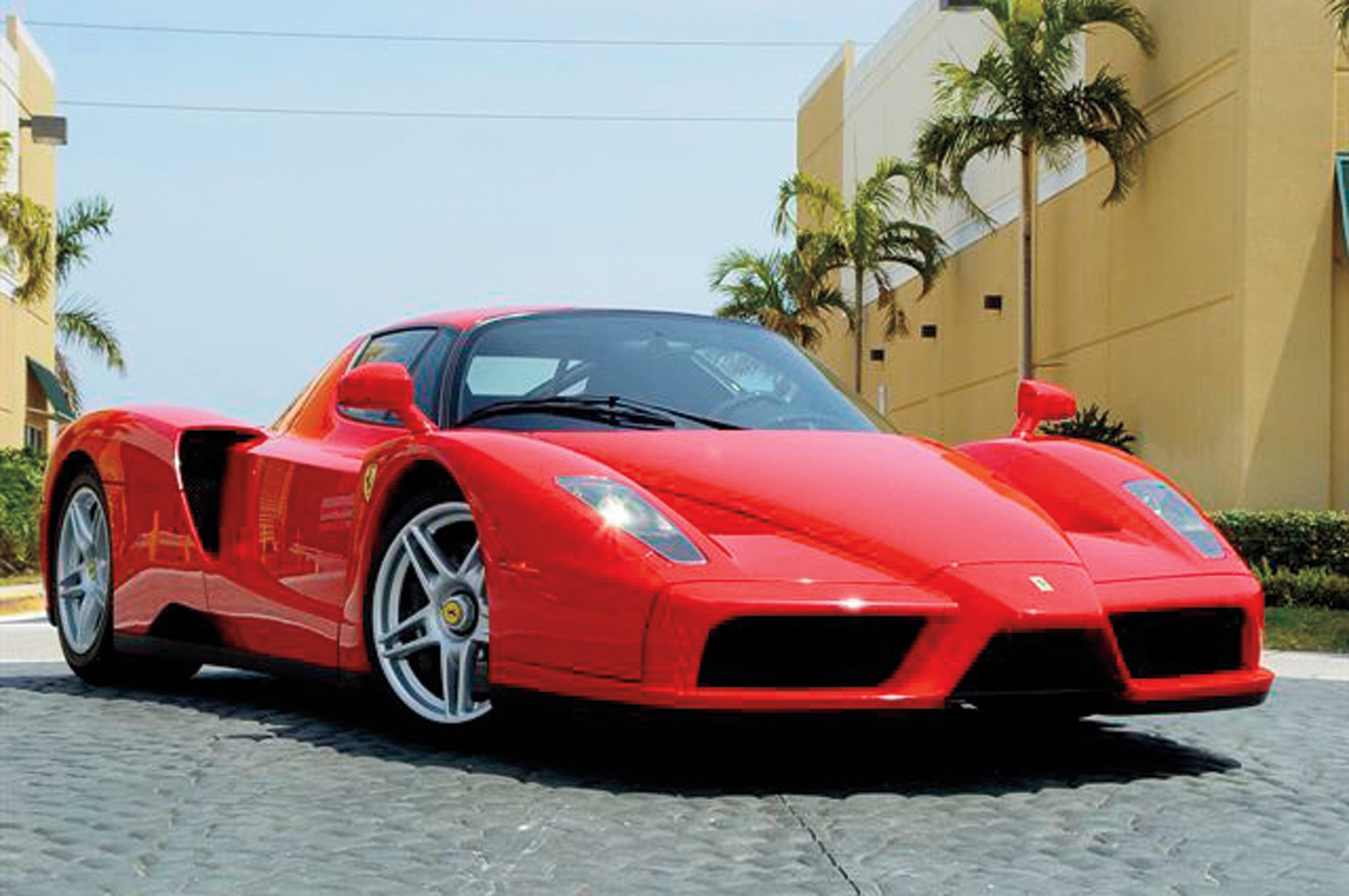 ferrari enzo road test review automobile magazine. Black Bedroom Furniture Sets. Home Design Ideas