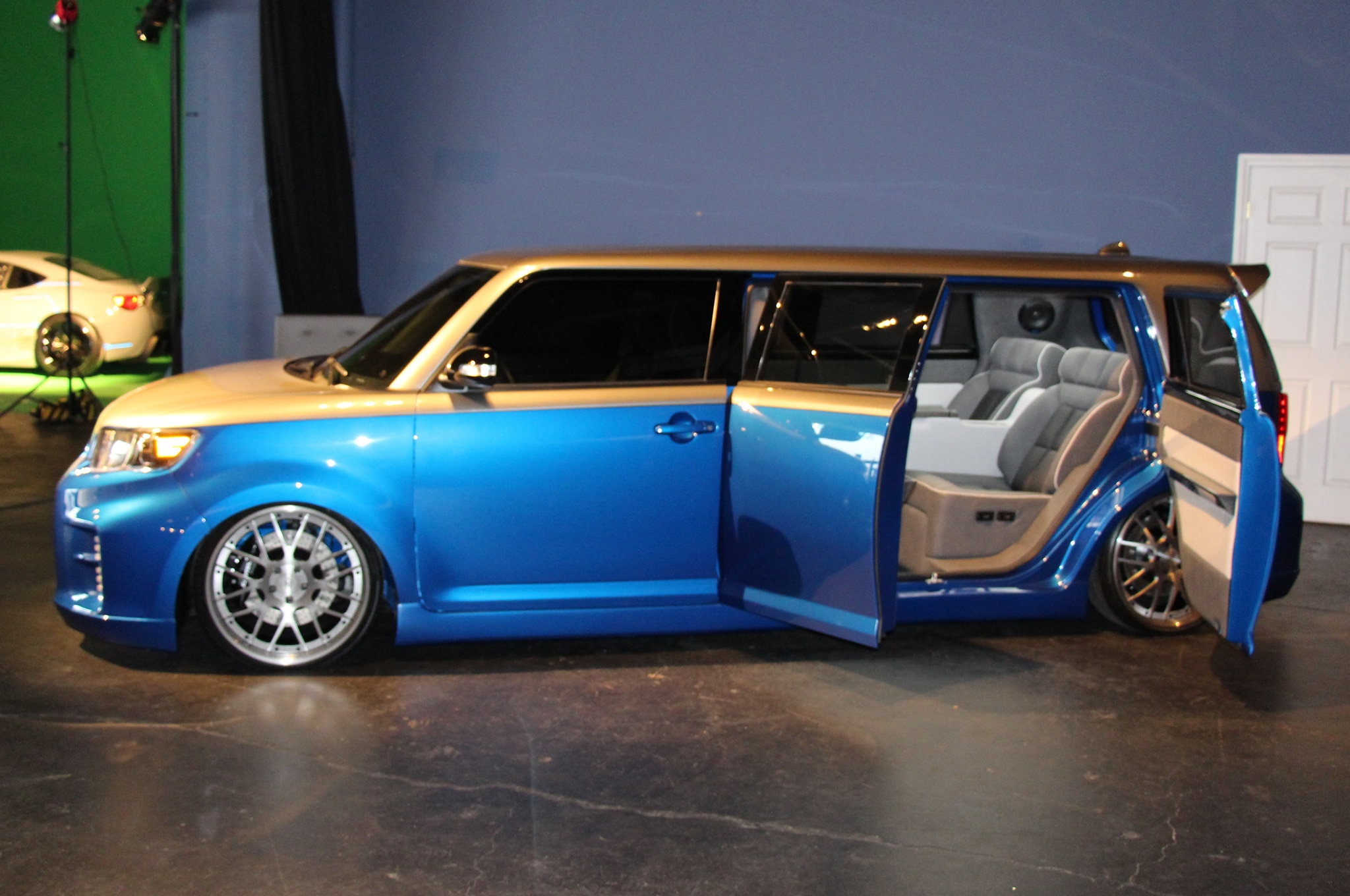 scion xb 2015 custom. scion at 2013 sema xb 2015 custom