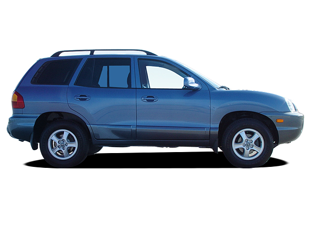 2002 Hyundai Santa Fe Four Seasons Test Automobile