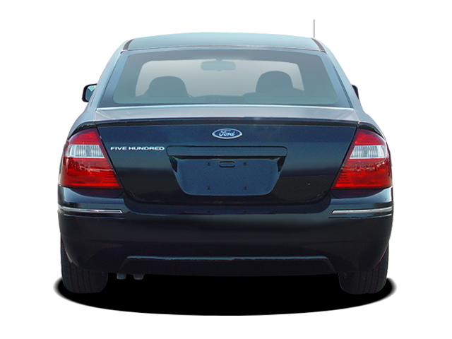 Ford Five Hundred Se Sedan Rear View on 2005 Ford Five Hundred Limited
