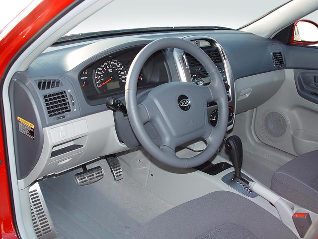 Kia Spectra Road Test Amp Review Automobile Magazine