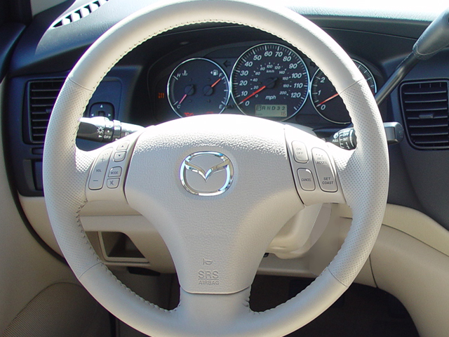 Mini Van Steering Wheel : Mazda mpv review automobile magazine
