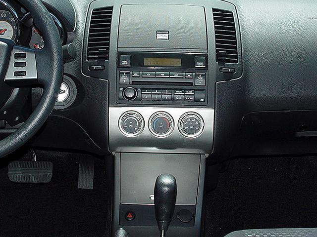2005 nissan altima 2 5 s sedan instrument panel