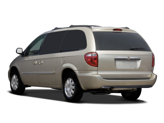 2007 chrysler town and country touring mini van angular rear. Cars Review. Best American Auto & Cars Review
