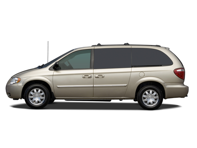 2007 chrysler town and country touring mini van side view. Cars Review. Best American Auto & Cars Review