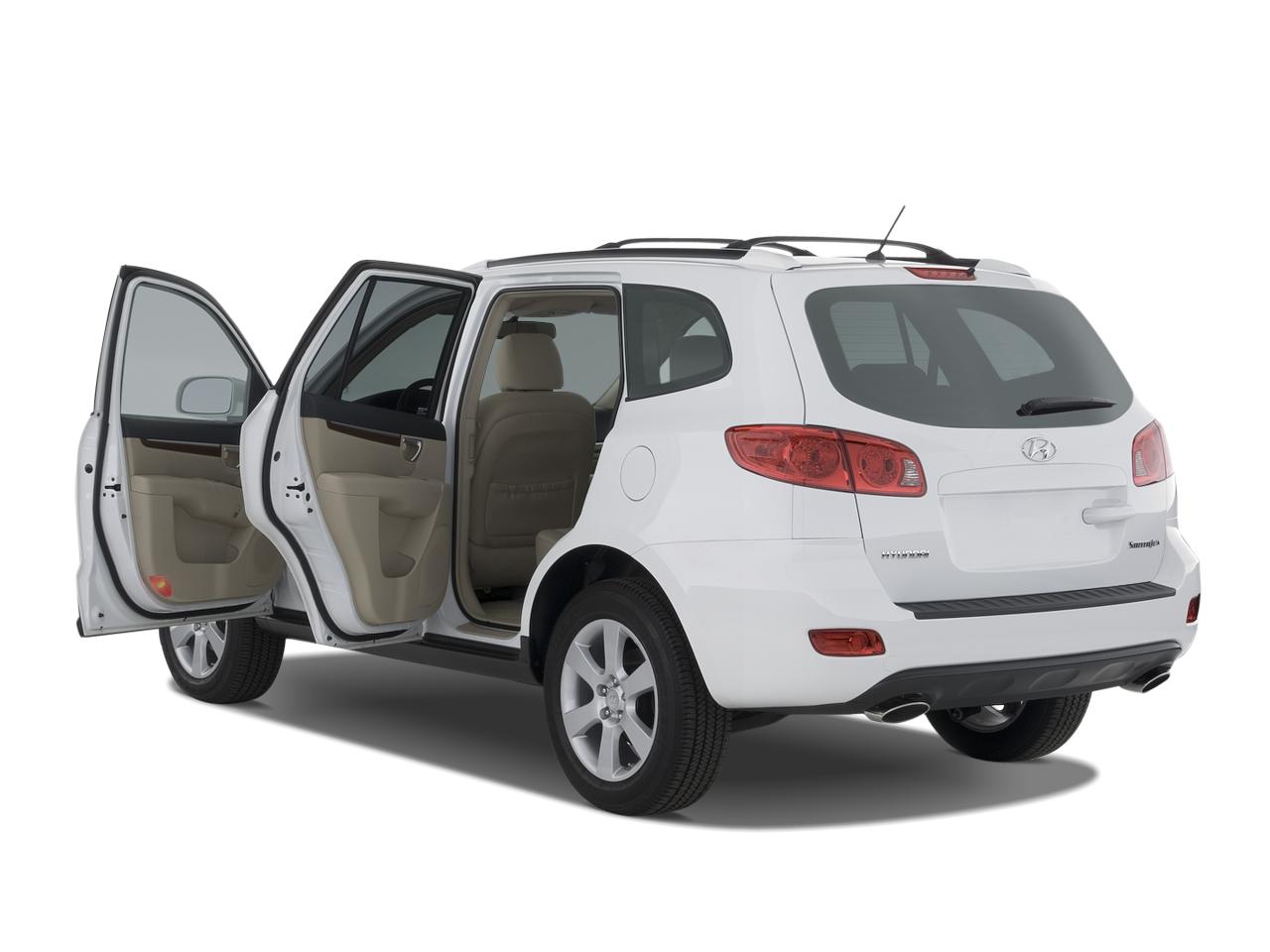 2007 hyundai santa fe car review road test automobile magazine. Black Bedroom Furniture Sets. Home Design Ideas