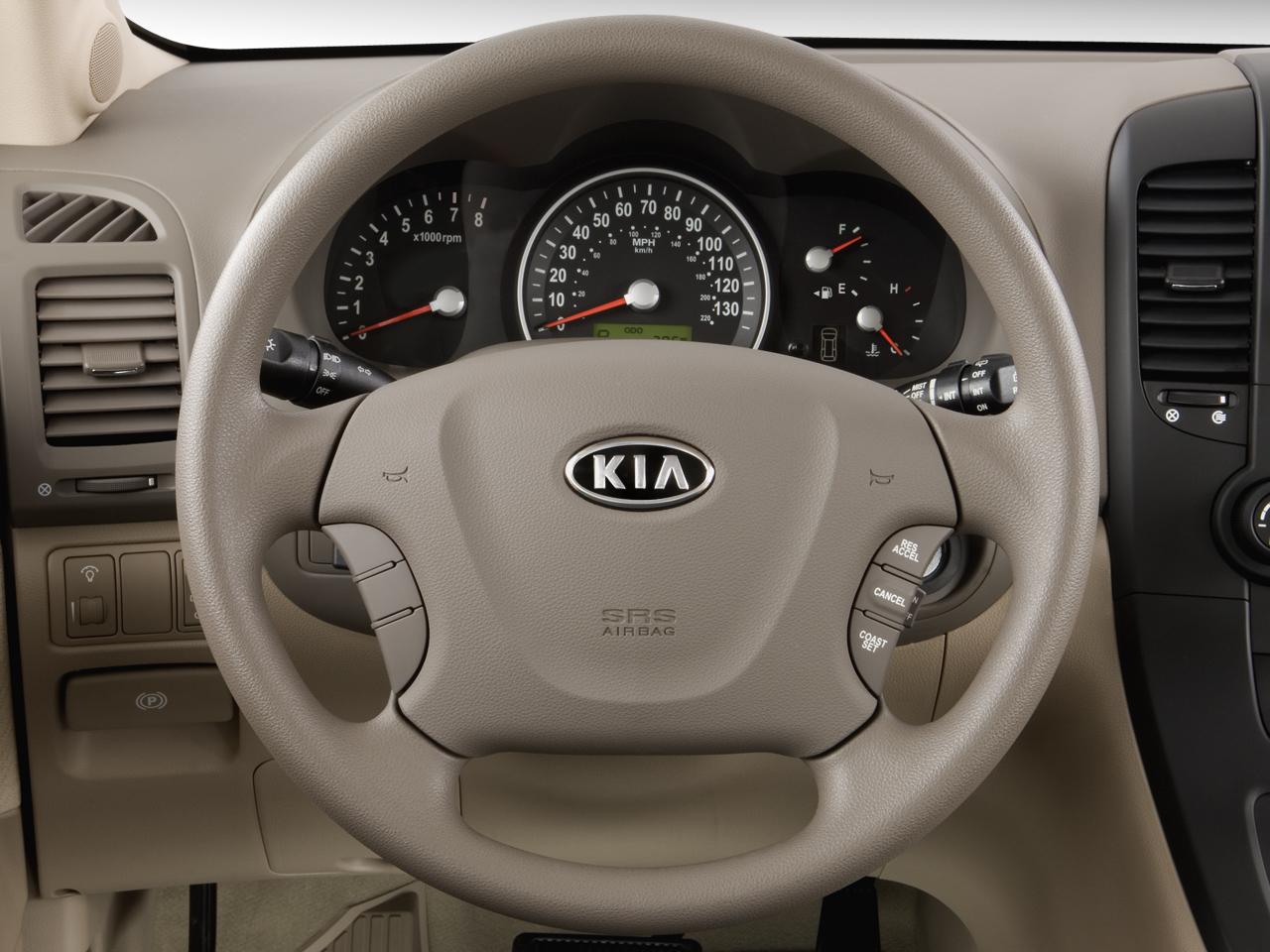 Mini Van Steering Wheel : Kia sedona minivan review road test automobile