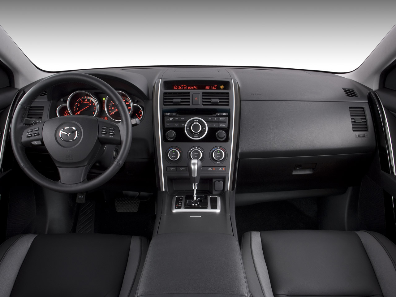 driven preview 2007 mazda cx 9 latest reviews road. Black Bedroom Furniture Sets. Home Design Ideas