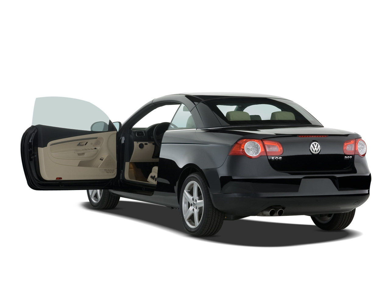 2007 volkswagen eos new car review automobile magazine. Black Bedroom Furniture Sets. Home Design Ideas