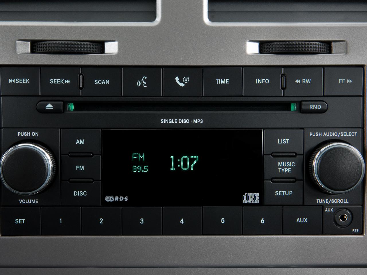 Dodge Avenger Se Sedan Audio System
