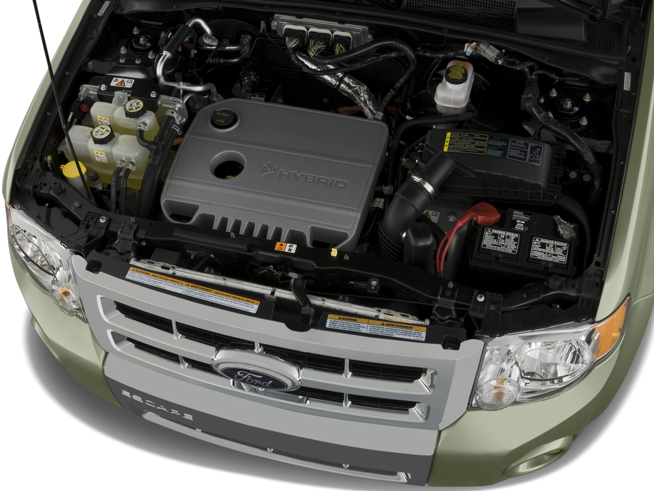 2008 ford escape road tests reviews and drivens for Motor ford escape 2005