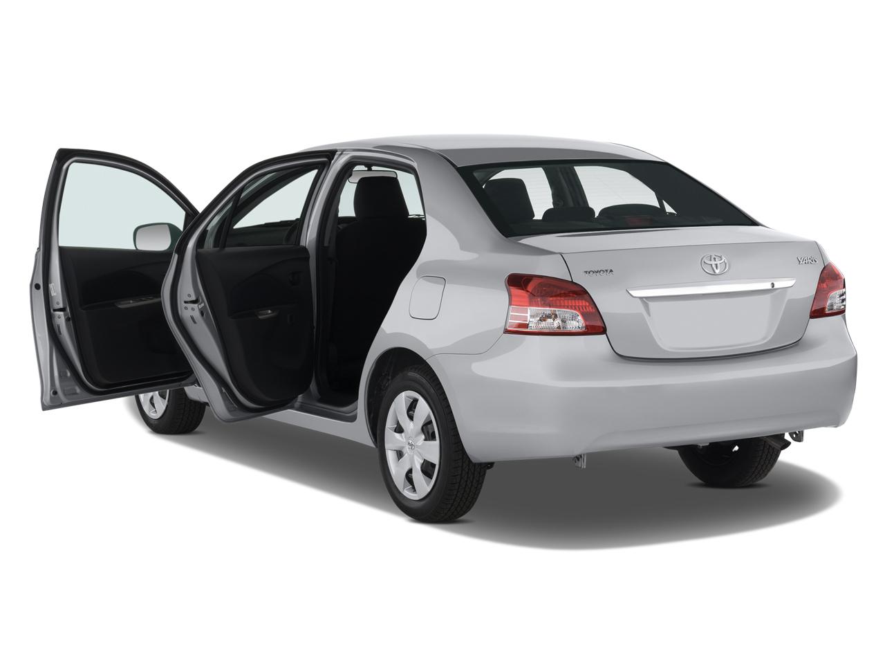 2008 toyota yaris toyota compact sedan review automobile magazine. Black Bedroom Furniture Sets. Home Design Ideas