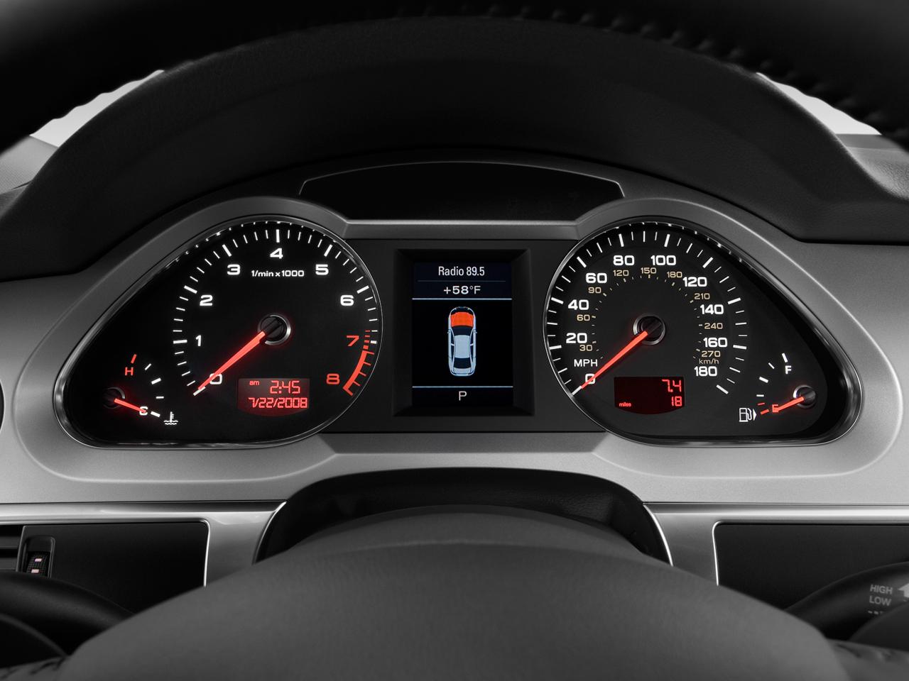 2009 Audi A6 3 0t Audi Luxury Sedan Review Automobile