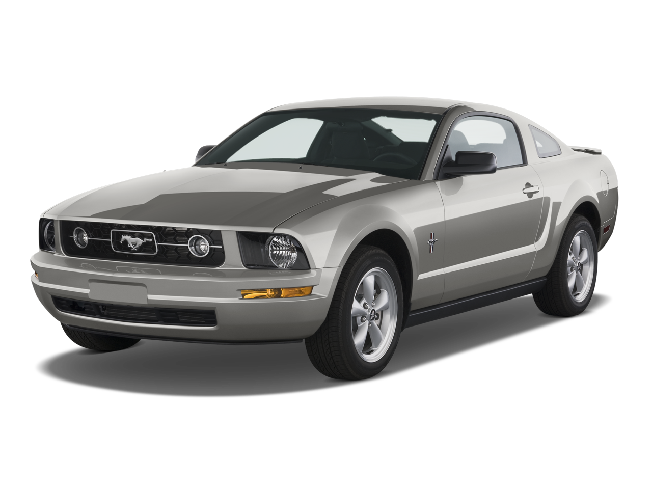 2009 5 ford mustang iacocca silver 45th anniversary. Black Bedroom Furniture Sets. Home Design Ideas