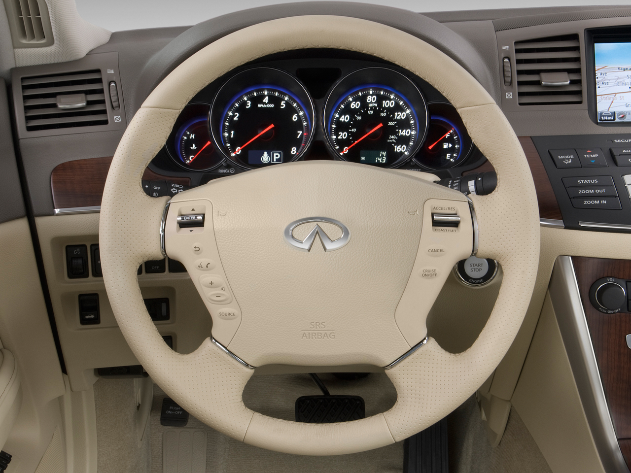 2009 Infiniti M M35 M35x M45 M45x Midsize Sedans Automobile Magazine