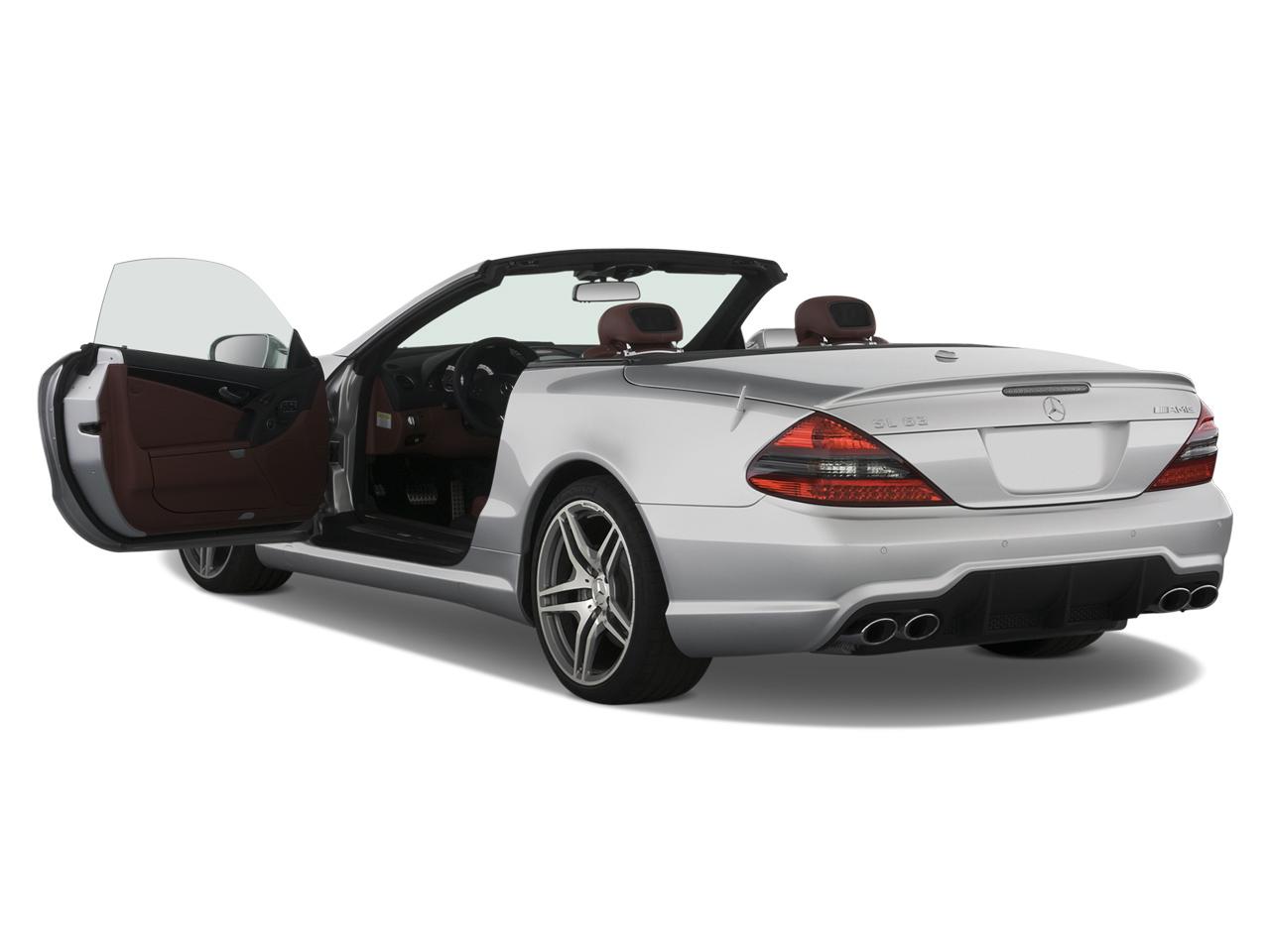 2009 mercedes benz sl63 amg roadster mercedes benz luxury convertible review automobile magazine. Black Bedroom Furniture Sets. Home Design Ideas