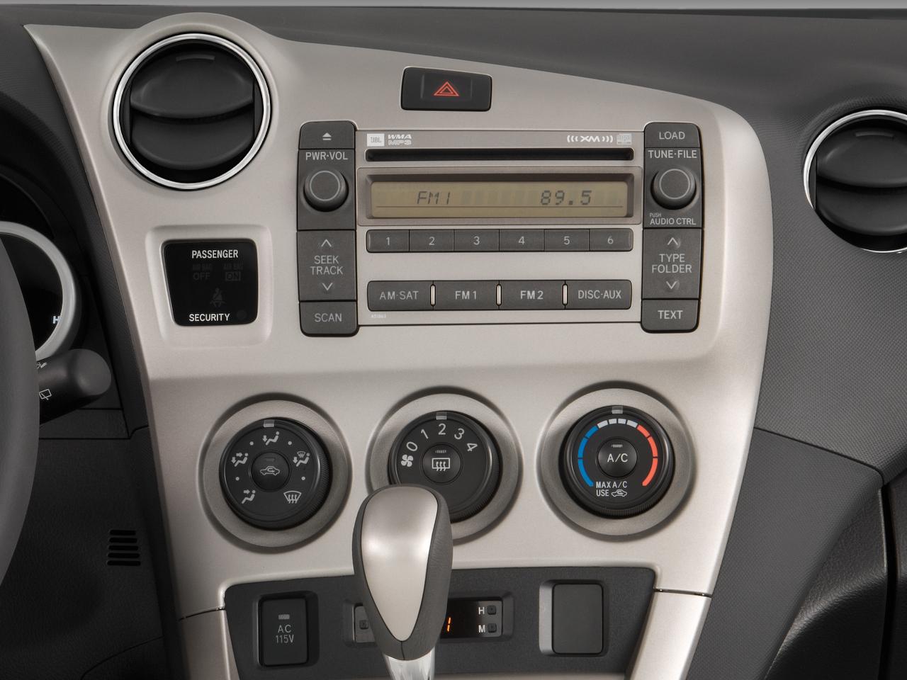 2009 Toyota Matrix XRS  Toyota Midsize Hatchback Review