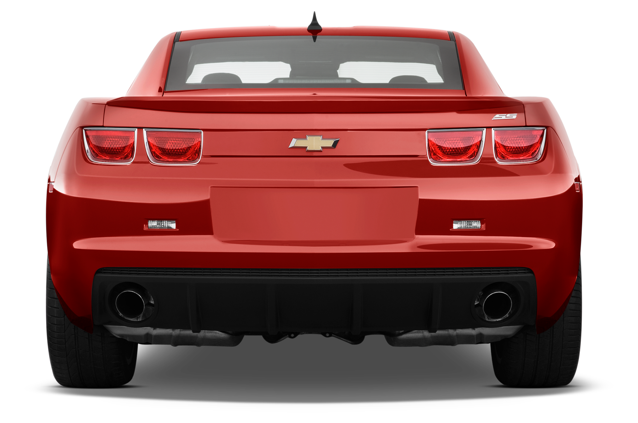 Chevrolet Camaro Ss Coupe Rear View