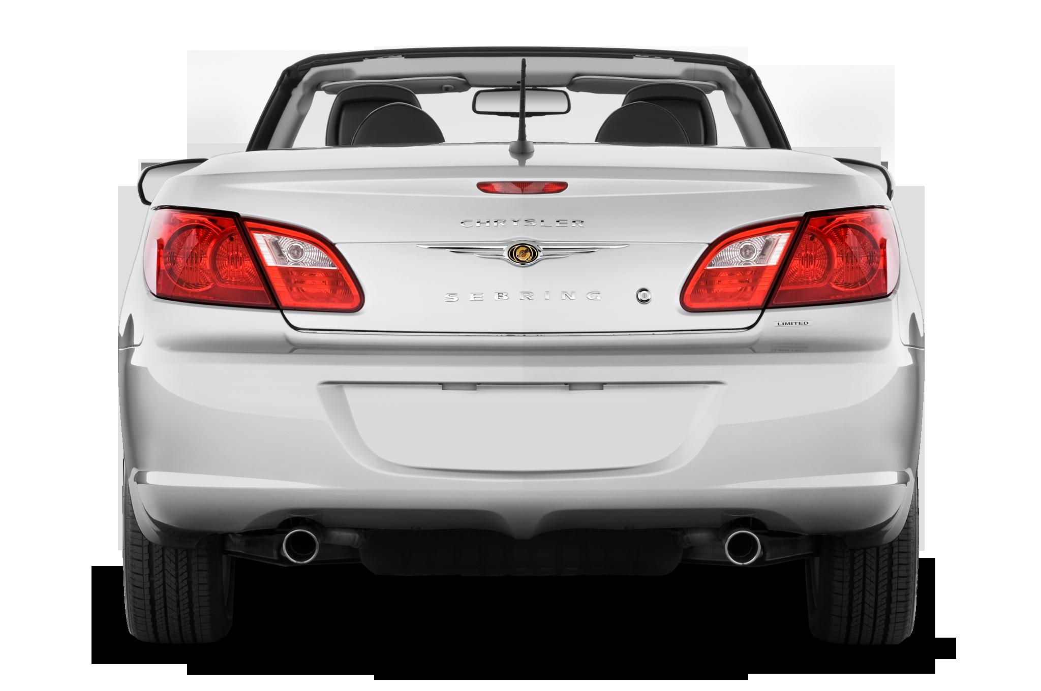 Chrysler Sebring Limited Convertible Rear View on 2007 Chrysler Sebring Repair Manual Free