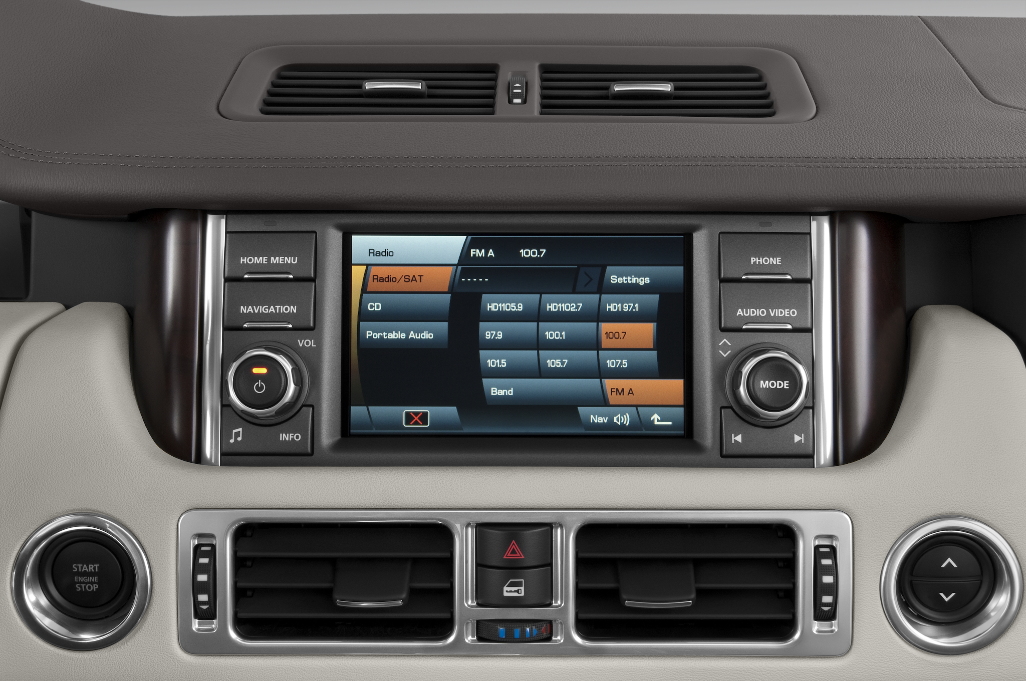 range rover car radio stereo land rover discovery 3 cd