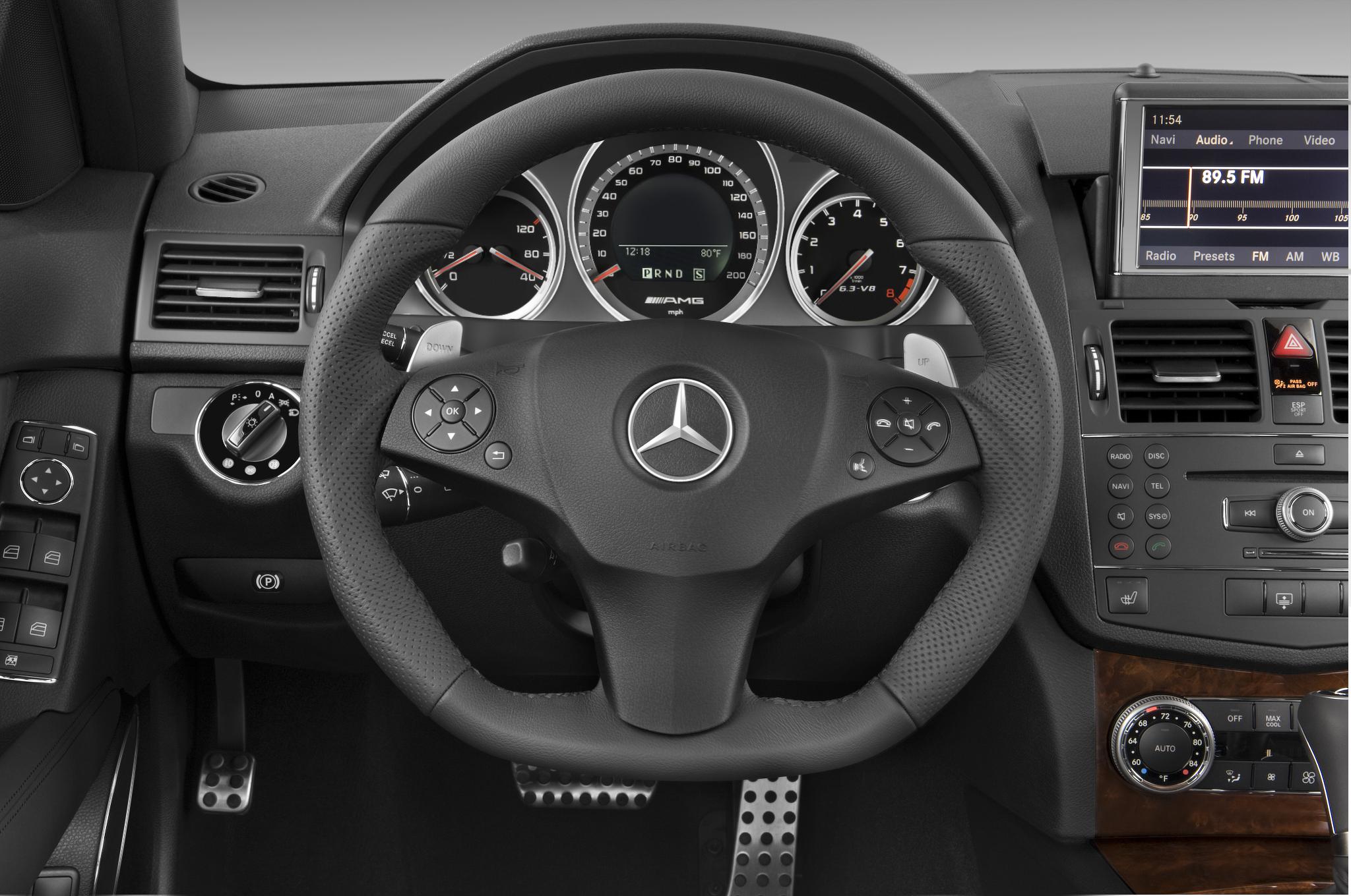 2010 mercedes benz c63 amg automobile magazine for Mercedes benz parts