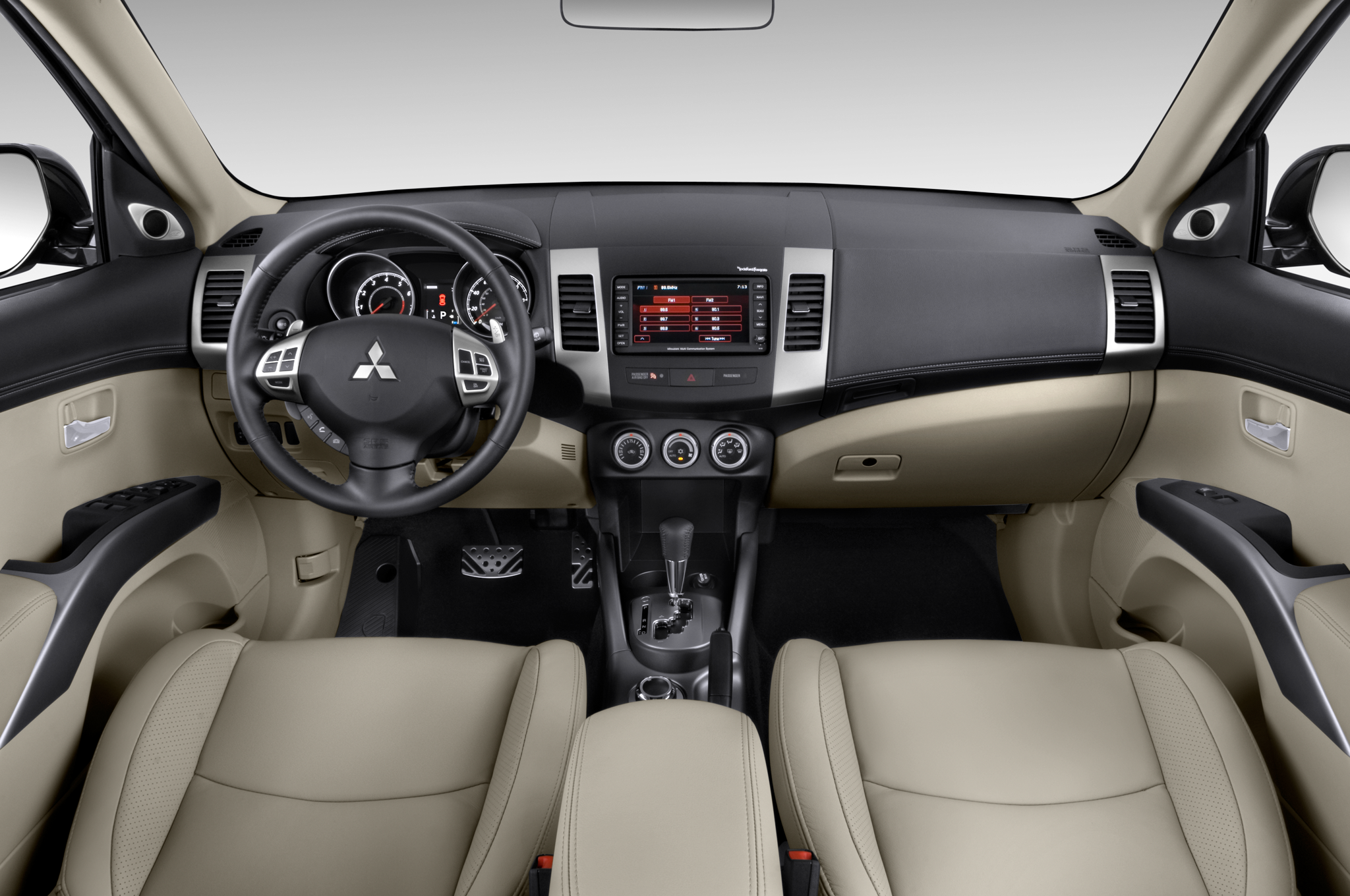 Mitsubishi to launch smaller outlander sport crossover for Mitsubishi outlander interior dimensions