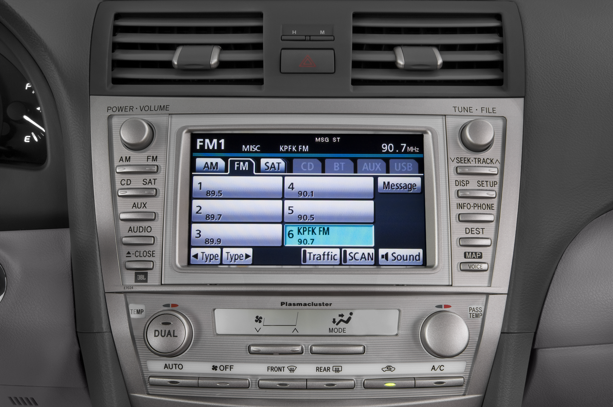 toyota camry 2006 audio system 2006 toyota camry xle v6. Black Bedroom Furniture Sets. Home Design Ideas