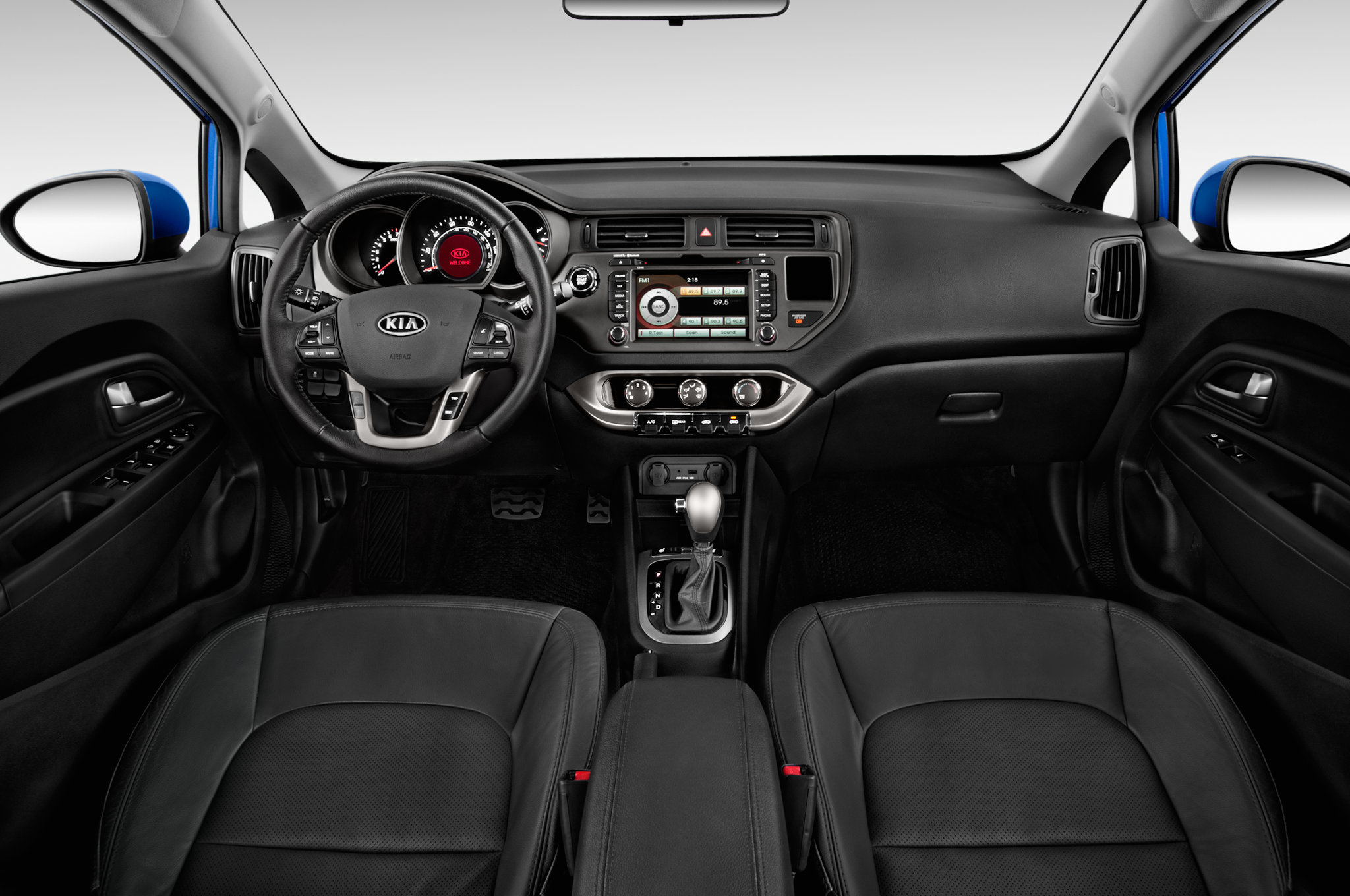 Slot in kia rio dash puppy power slots the interior of the kia rio features a nicely contoured dashboard with a generous binnacle over the a slot in the center stack holds parking passes or fandeluxe Image collections