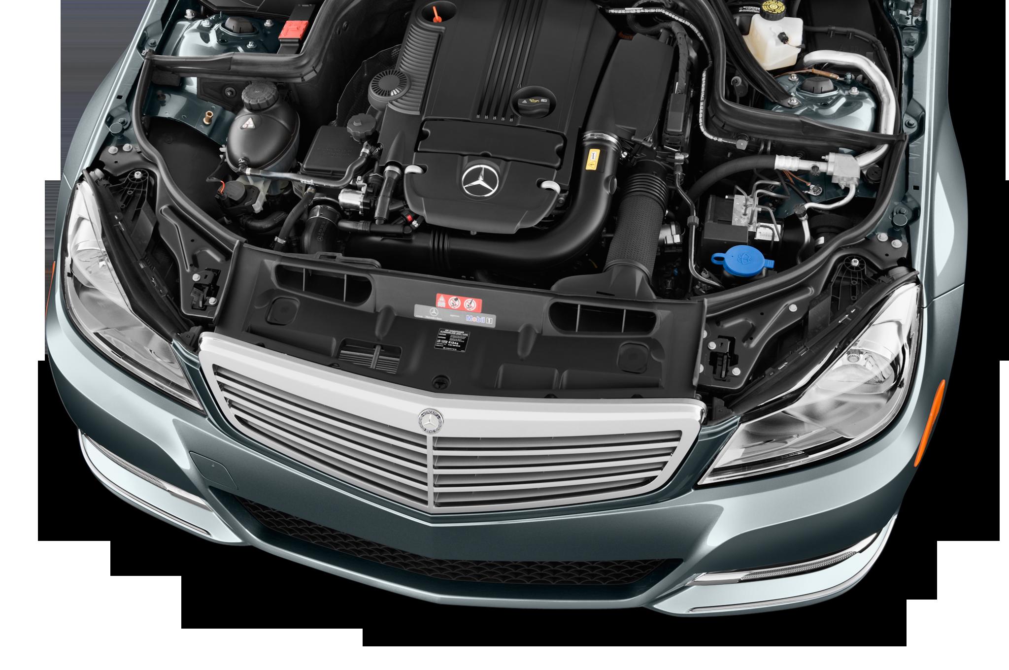 2012 mercedes benz c300 4matic editors 39 notebook for Mercedes benz c class engine