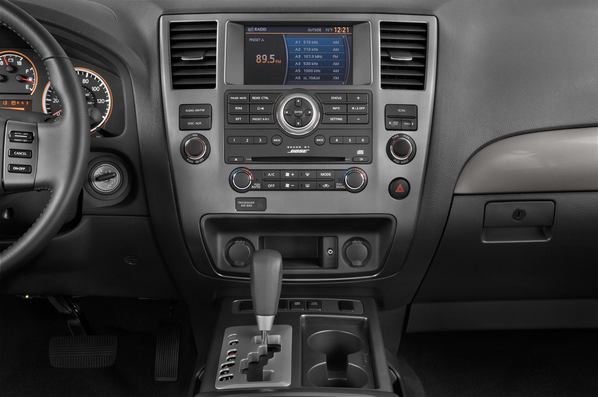2012 Nissan Armada Platinum - Editors' Notebook ...