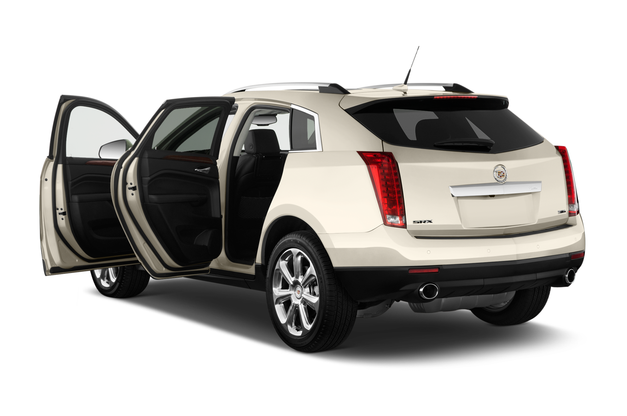 cadillac adds rear seat entertainment system with cue to 2013 srx. Black Bedroom Furniture Sets. Home Design Ideas