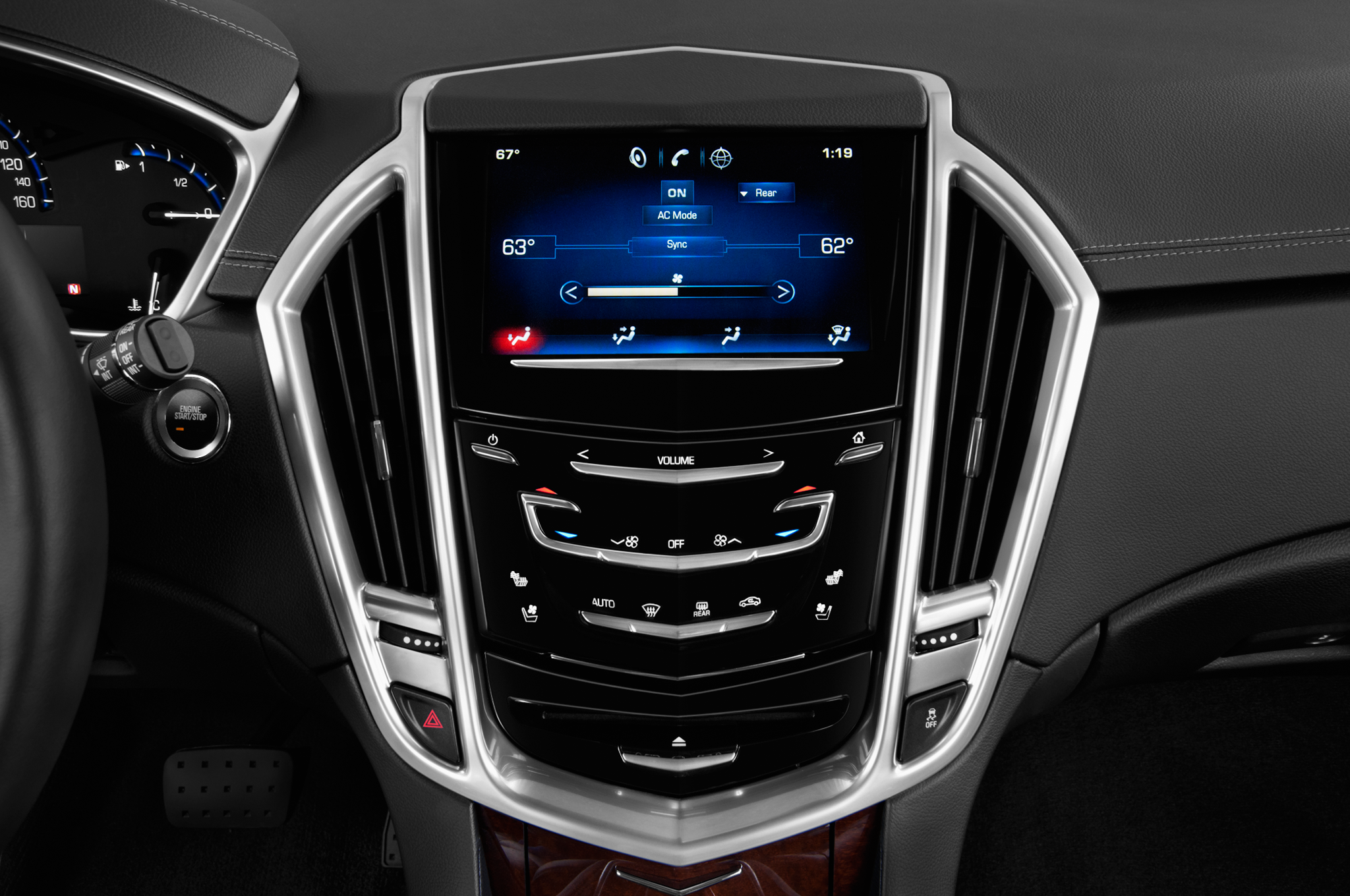 Cadillac Adds Rear Seat Entertainment System With Cue To