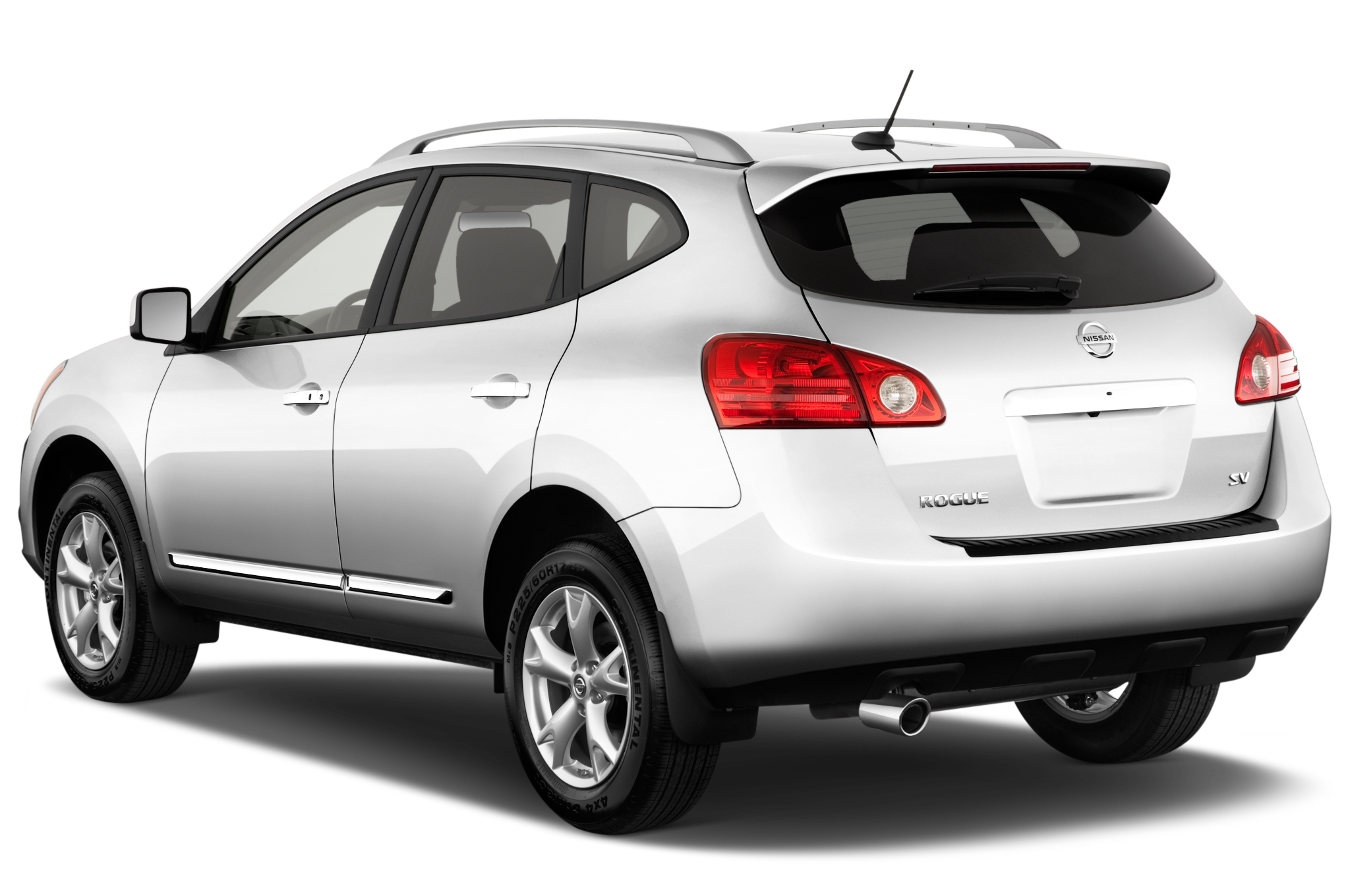 quarters three rear vs rogue facelift nissan gallery image