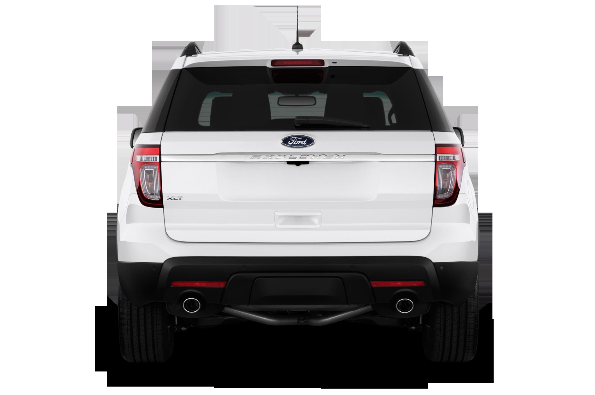 2014 ford explorer xlt suv rear view - Ford Explorer 2015 Xlt Black