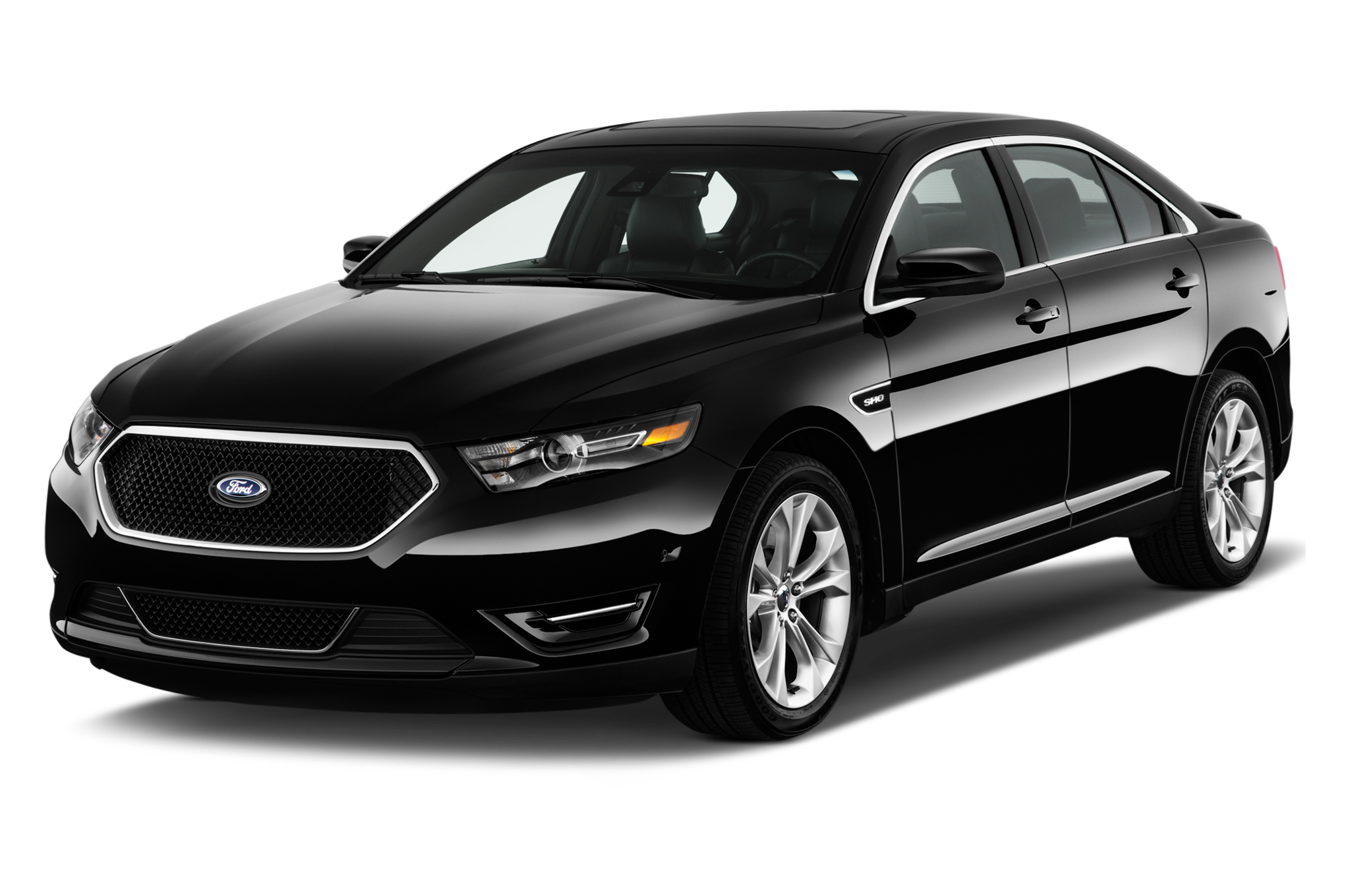Ford Taurus Sho   Ford Approaches  Percent Of Police Car Market