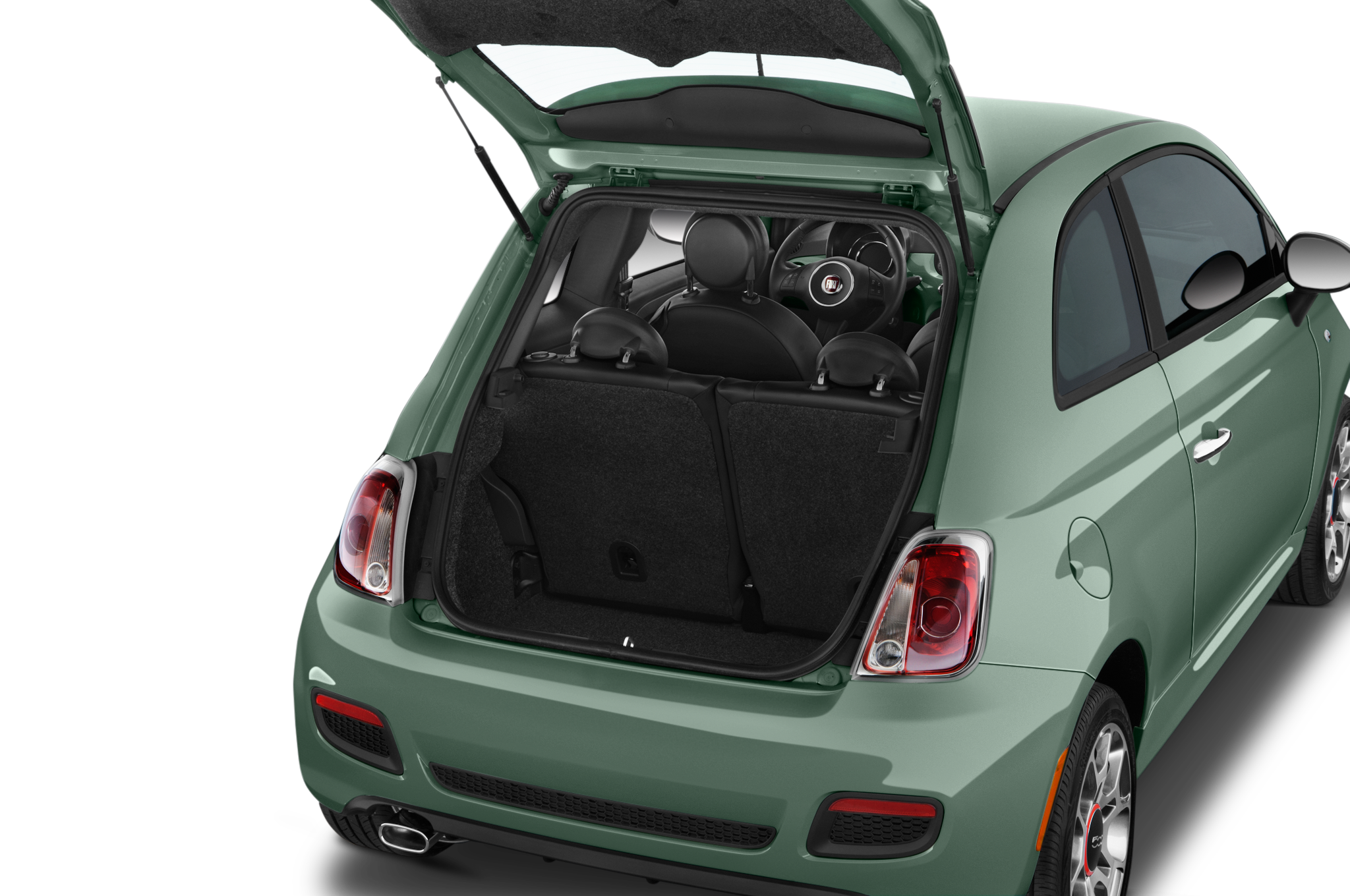 Fiat 500 Abarth Trunk 2015 Fiat 500 A...