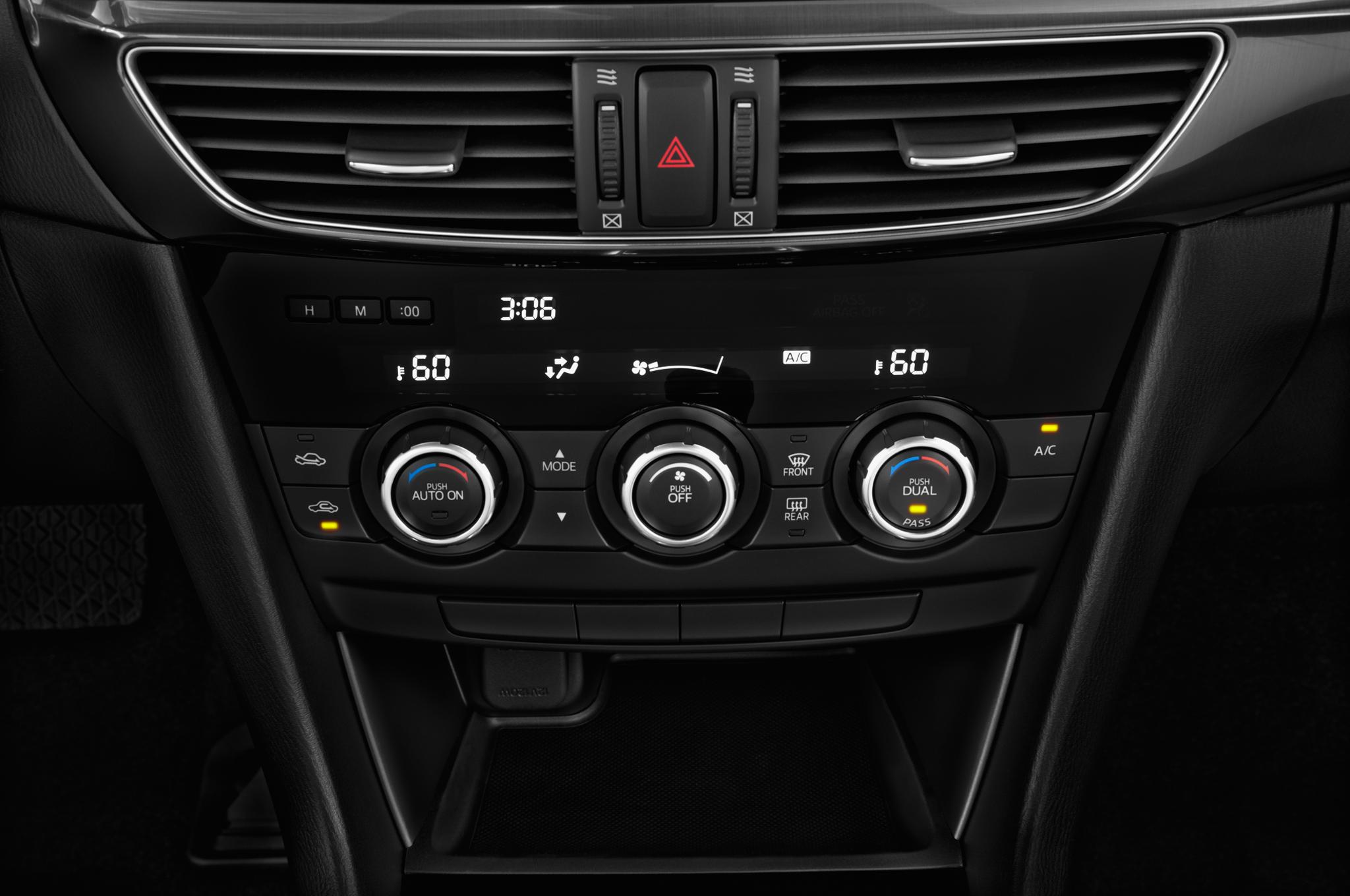2015 mazda mazda6 i touring sedan temp control1 #C9BB02