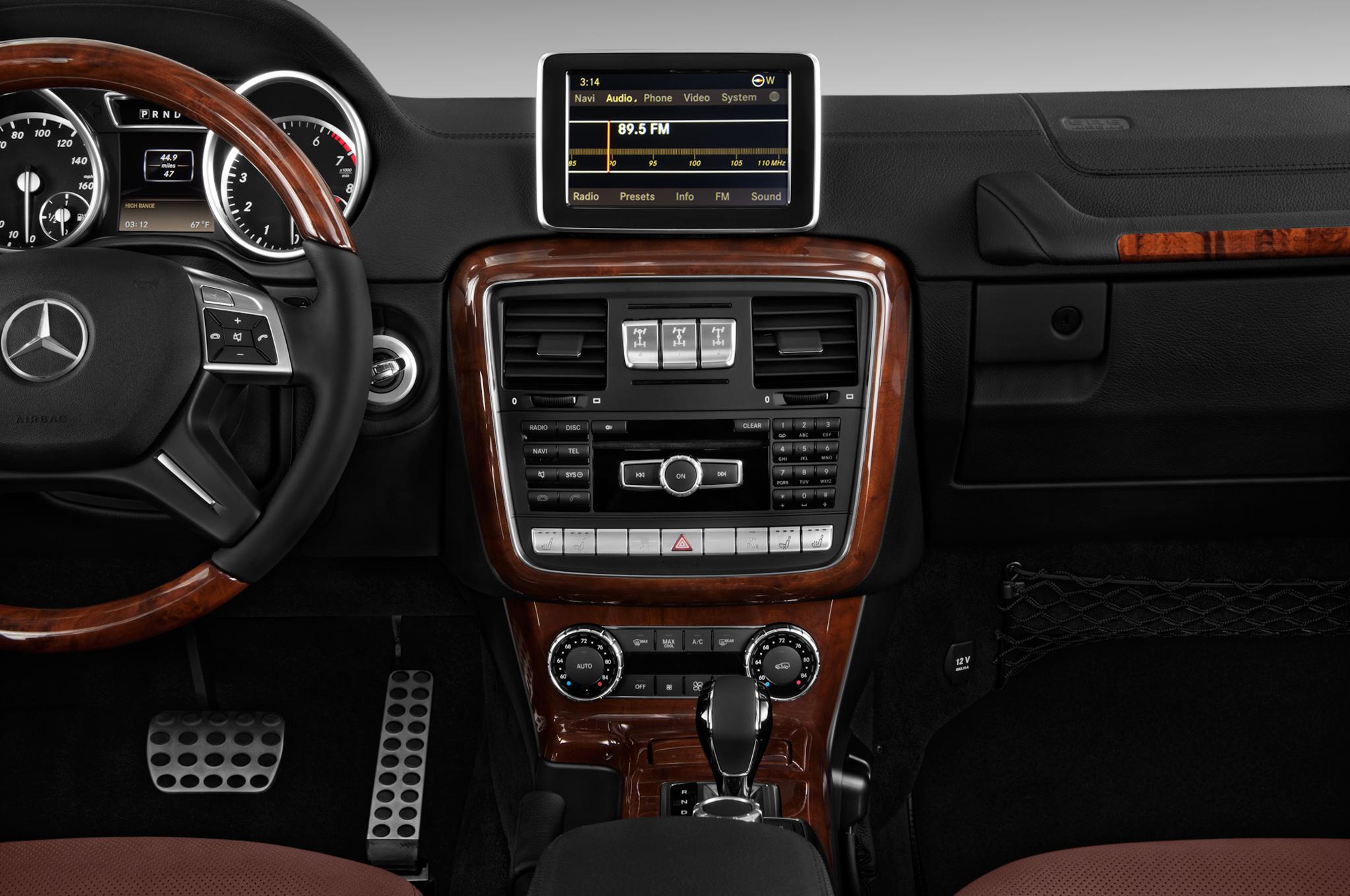 2012 mercedes benz g wagon professional edition grey exterior 4252 - G Wagon Matte Black Interior