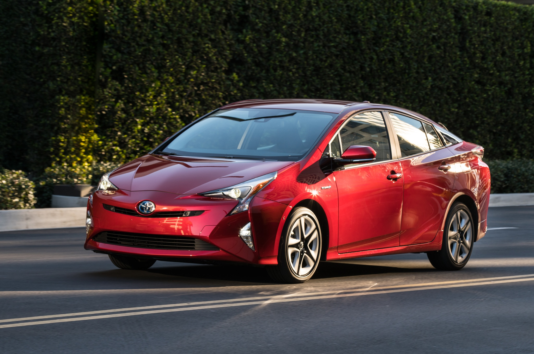 Watch the 2016 Toyota Prius Go Drifting in Its Super Bowl Ad