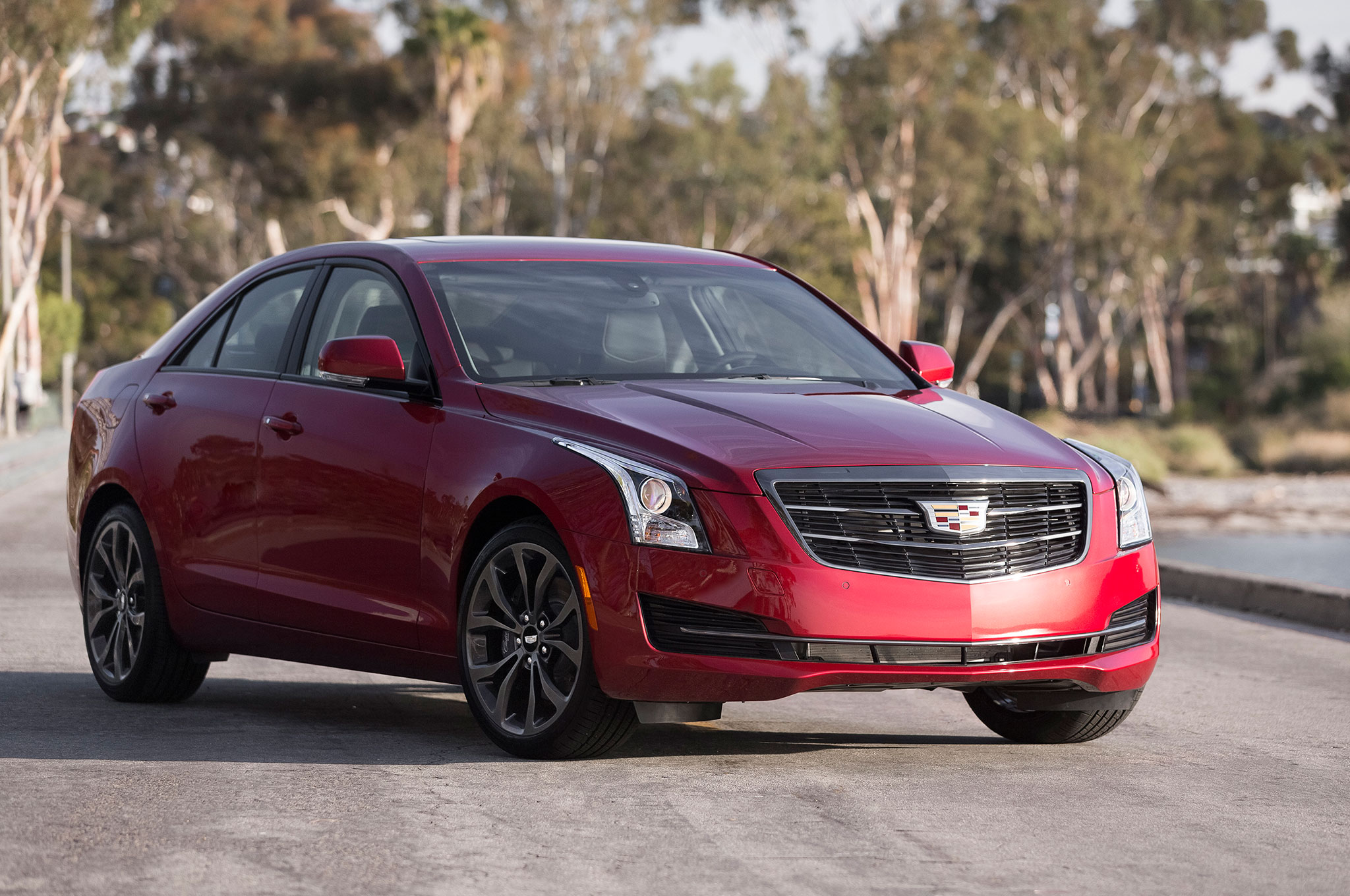 2016 cadillac ats and cts add black chrome package. Black Bedroom Furniture Sets. Home Design Ideas