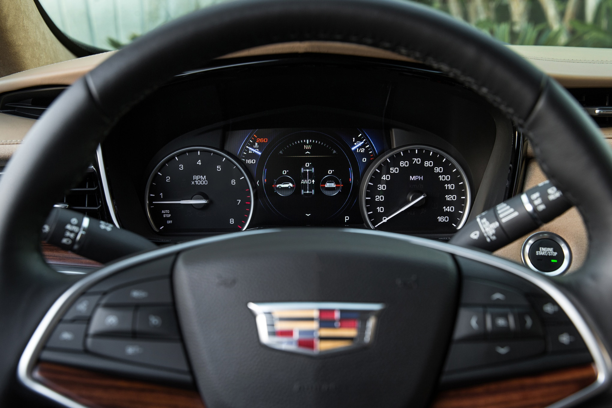 2017 Cadillac XT5 steering wheel 2017 all stars contender cadillac xt5 automobile magazine 2017 Cadillac XTS at fashall.co