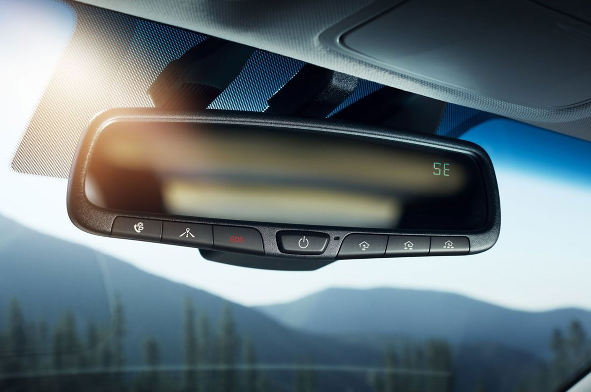 2017 Hyundai Ioniq Hybrid rear view mirror maybach exelero automobile magazine  at reclaimingppi.co