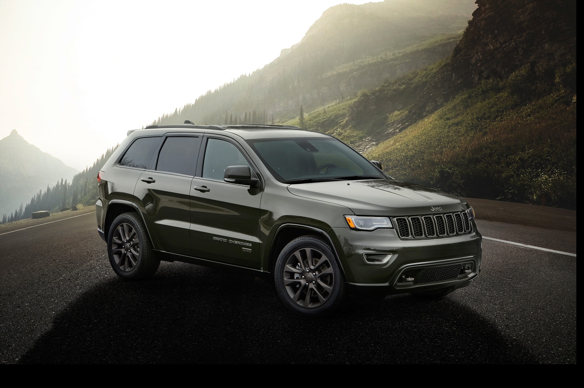 cherokee jeep grand engine start stop mpg improves adds 75th anniversary edition