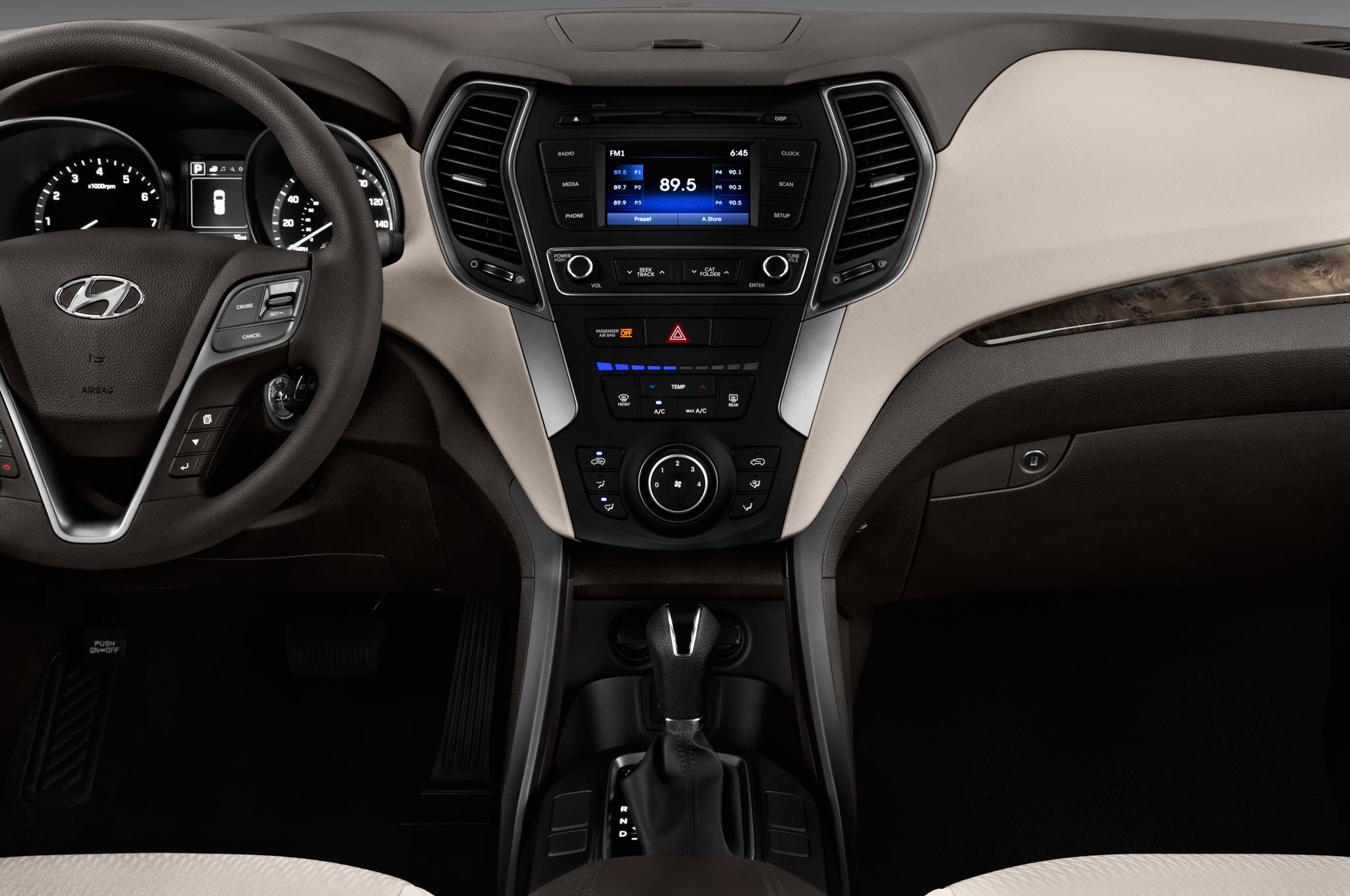 2017 hyundai santa fe sport iihs testing - Hyundai santa fe sport interior photos ...
