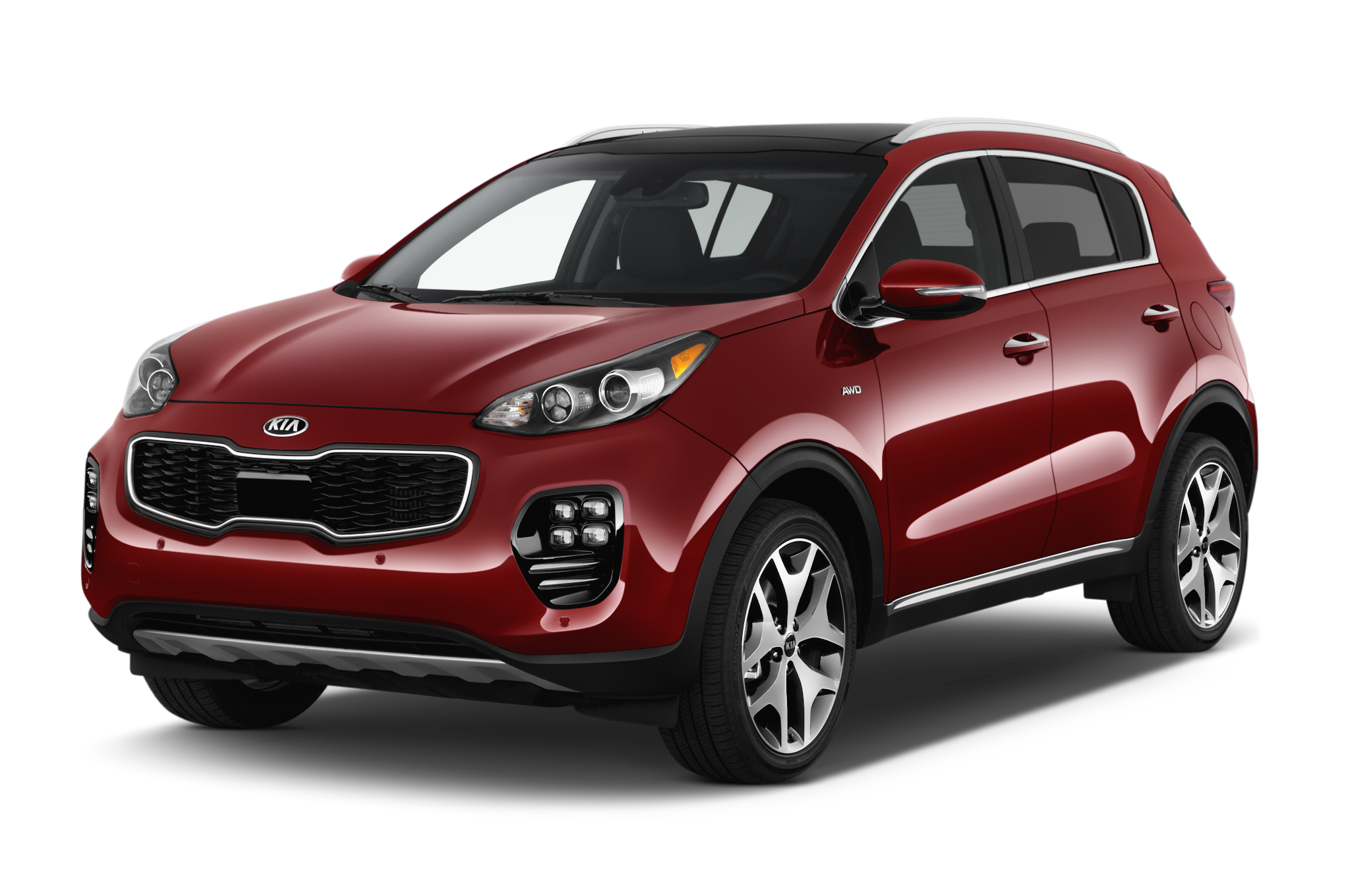 2017 kia sportage crossover makes u s debut in los angeles. Black Bedroom Furniture Sets. Home Design Ideas