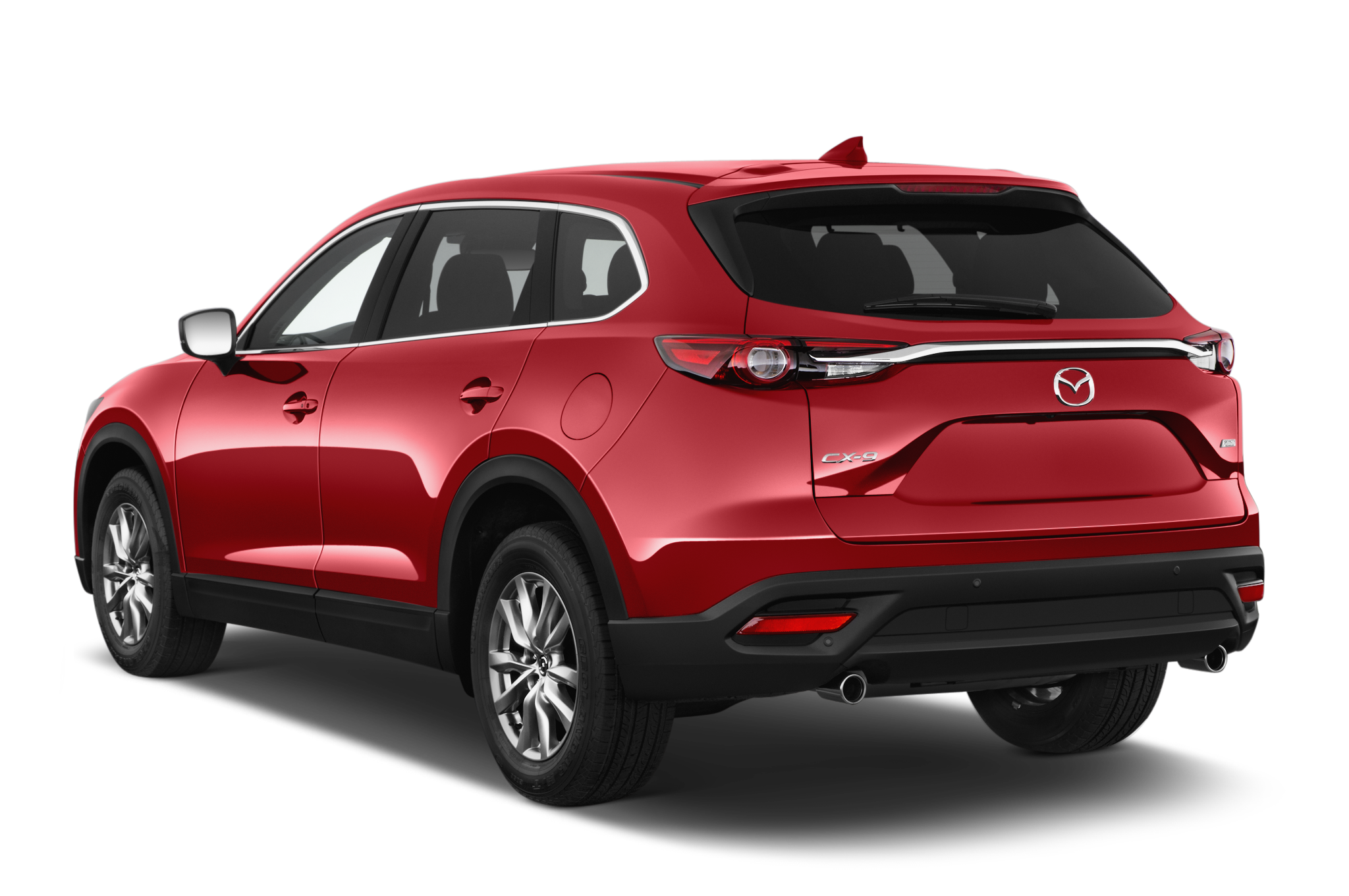 2016 mazda cx 9 touring fwd suv angular rear. Black Bedroom Furniture Sets. Home Design Ideas